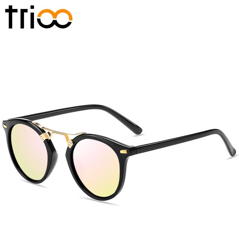 TRIOO მცირე მრგვალი სათვალე - ტანსაცმლის აქსესუარები - ფოტო 3