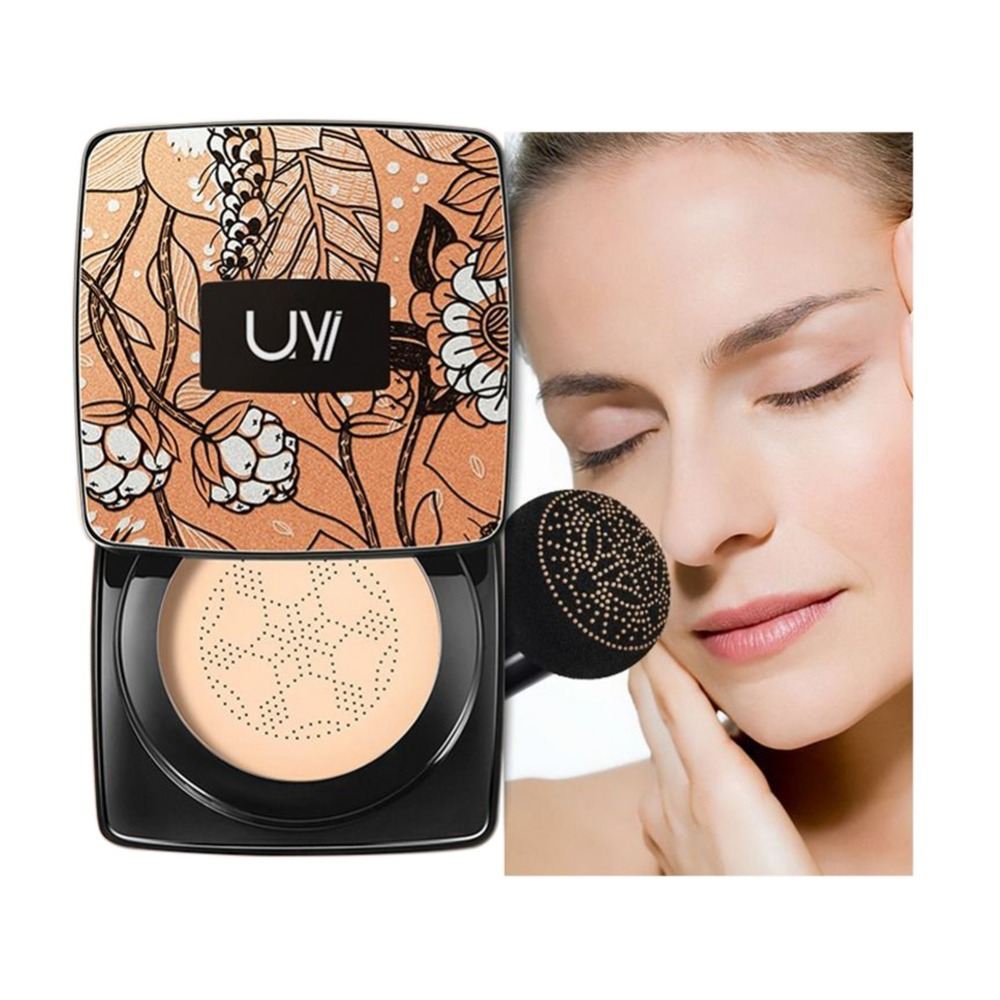 Small Mushroom Head Cushion Bb Cream Moisturizing Brighten Skin Tone Cover Blemishes Cc Cream image