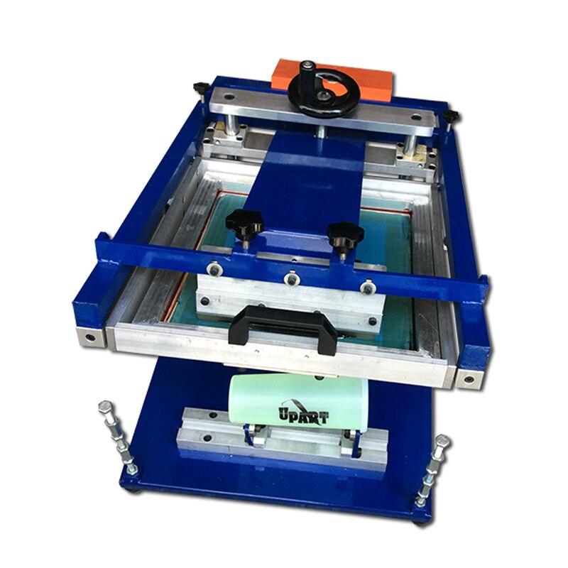 Price Of Screen Printing Machine,manual Round Screen Printing Machine, Hand Screen Printing Machine For Bottles