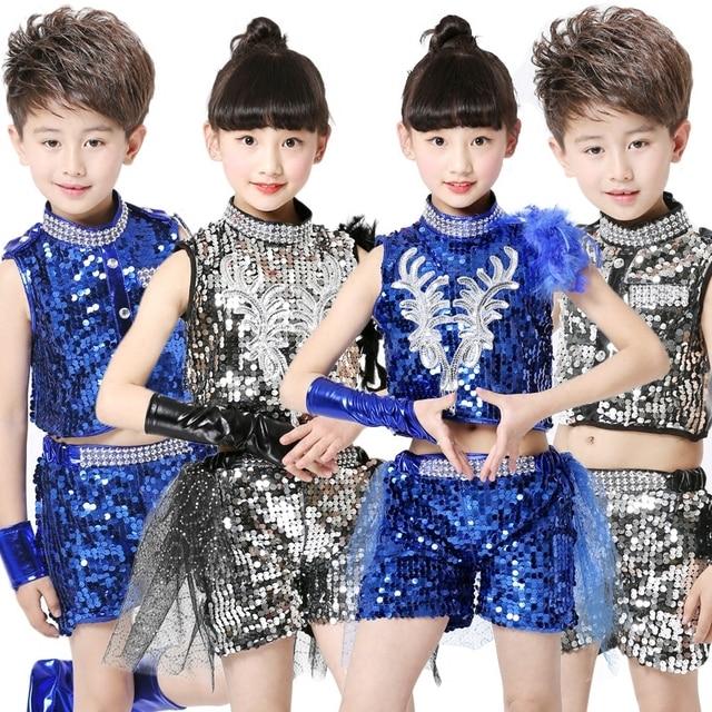 17bd3fa17f61 Aliexpress.com   Buy Jazz Dance Costumes Boys And Girls Street Dance ...