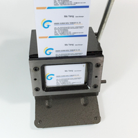 Manual ID Business Credit PVC Film Paper Name Card PVC Card Cutting Machine Die Punch Cutter