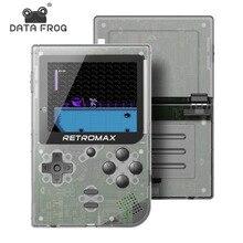 Портативная игровая консоль Data Frog, 8 бит, портативная игровая консоль, встроенная 181 игр, мини-ретро-консоль, игра Retromax