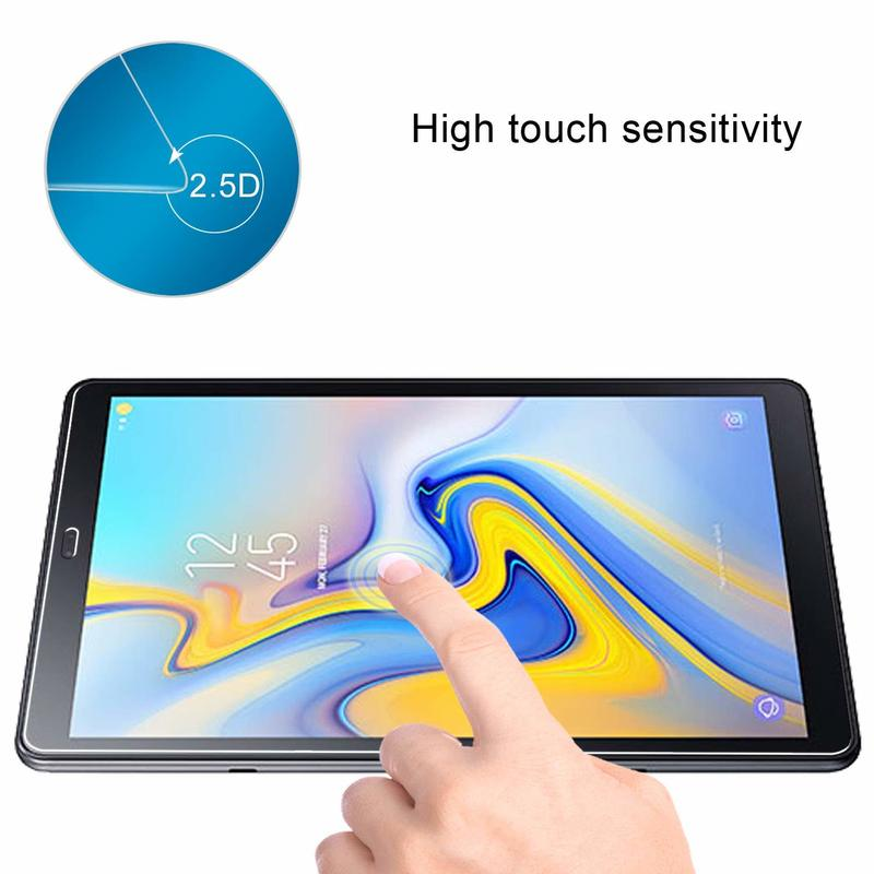 Samsung Galaxy Tab A 10.5 Tempered Glass Screen Protector 9H Hardness,Ultra Clear for Galaxy Tab A 10.5 SM-T590 SM-T595 10.5 inch