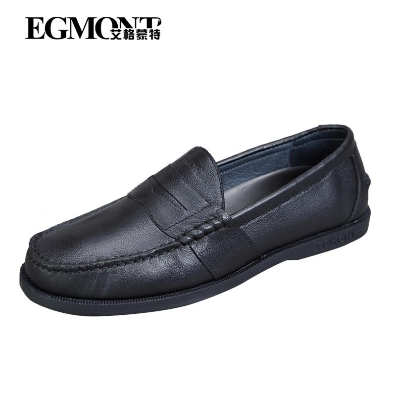 Couro Primavera Confortável Handmade Verão Egmont De on Mens Preto Sapatos Black Sólidos Slip Vaca Respirável Casuais Mocassins Mocassim Uq57Z5w