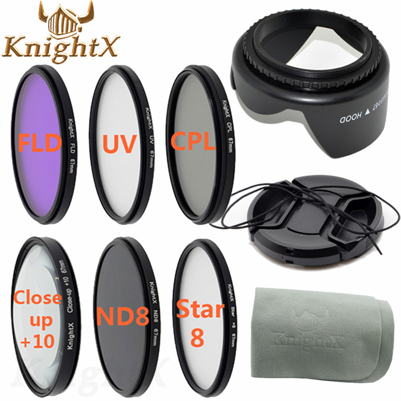 KnightX 52mm 55mm 58mm 67mm UV CPL FLD graduated polarizing color ND Filter Set for Canon Nikon Sony lenses d90 6D d3200 d5200 knightx 14 filter fld uv cpl nd nd2 nd4 nd8 grad lens for sony canon nikon d5300 d5200 d3300 eos 7d 5d 6d 52mm 58mm 67mm 77mm