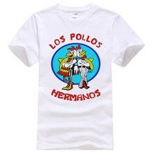 Camiseta con estampado de Los Pollos Hermanos para hombre y mujer, ropa informal con estampado de Breaking Bad, para Los Pollos Hermanos, #108