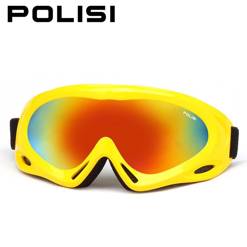 Polisi niños motos de nieve gafas de esquí snowboard skate niños niñas anti-vaho