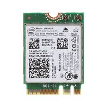 Intel 00jt497 3165ngw wireless-ac banda dupla para lenovo thinkpad bluetooth wifi ibm cartão portátil ngff wlan(China)