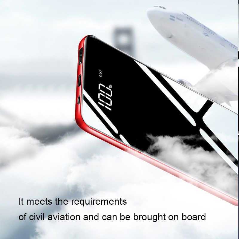 10000 мАч портативный Быстрый Зарядное устройство mi ni Мощность Bank зарядное устройство для iPhone X 8 плюс samsung S8 S9 крепление для спортивной камеры Xiao mi мА/ч. аккумулятор externe повербанк mi Мощность банка
