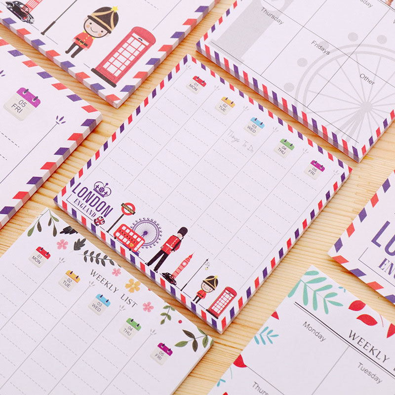 Cute Kawaii Cartoon Animal Finger Unicorn Memo Pad N Times Sticky Note Paper Korean Stationery Cat Planner Sticker School Office To Enjoy High Reputation In The International Market Memo Pads Office & School Supplies