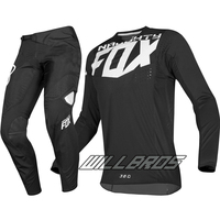 MX 360 Kila Jersey Pants Motocross Dirt bike MTB ATV Adult Racing Gear Set Black