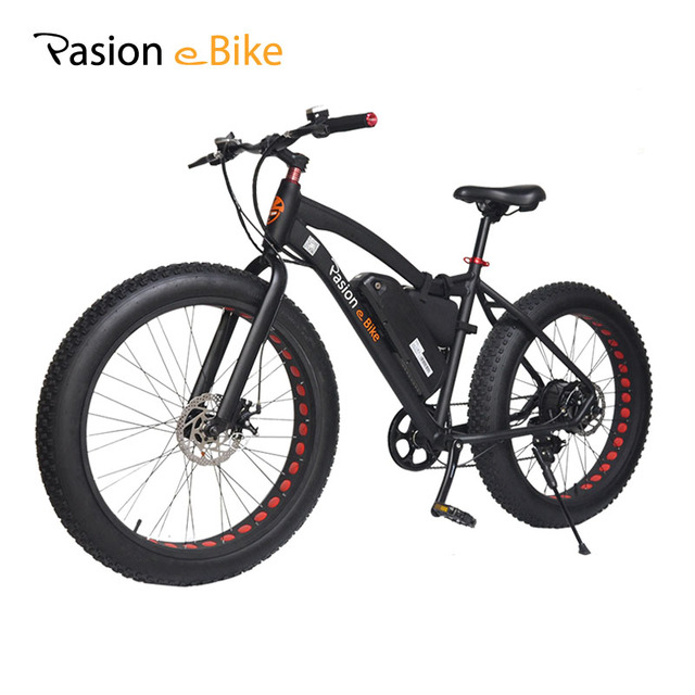 pasion e bike 36v 500w powerful electric fat bike 36v lithium battery e bicycle 26 x4 0 off road. Black Bedroom Furniture Sets. Home Design Ideas