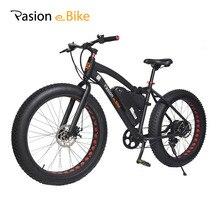 """PASION E ROWER 36 V 500 W potężny tłuszczu rower elektryczny 36 V Bateria litowa E rower 26 """"X4.0 Off road Elektryczny rower górski rower"""