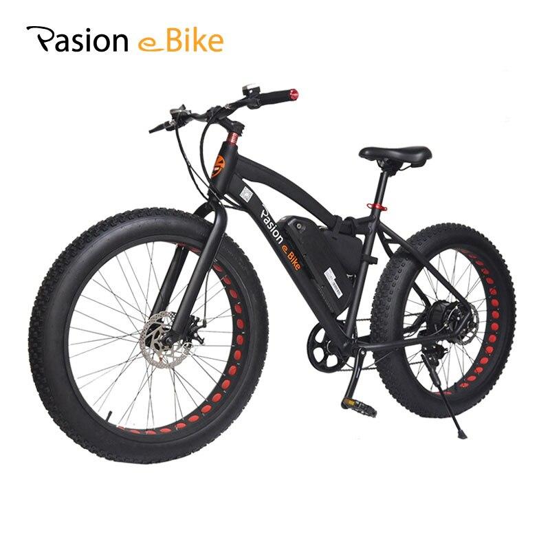 PASION E vélo 48 V 500 W puissant vélo électrique 48 V batterie au Lithium E vélo 26