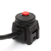 Universal Motorcycle Kill Stop Switch Horn Button for Motorcycle Pit Quad Bike 22mm 7/8