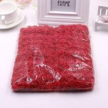 Bouquet Rose Artificial Flower Diy Wreath Mini Bear Decor Scrapbooking Wedding-Decoration