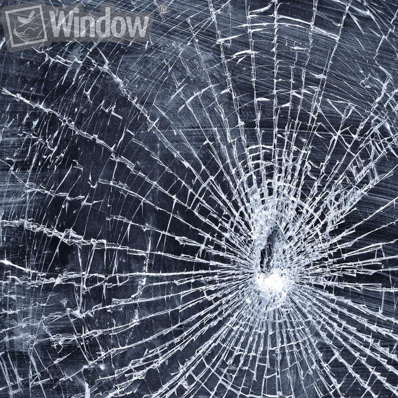 0.5X6M Säkerhetssäkerhetsfönster Filmskydd Glasskydd Anti Shatter - Exteriör biltillbehör - Foto 5