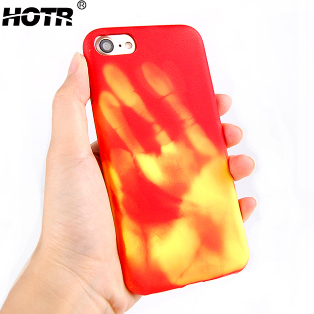 reputable site 2ea3b 02e90 US $2.28 45% OFF|HOTR TPU Thermal Sensitive Case For iphone 6 plus 6s plus  Back Protective Soft Case Cover Heat Sensitive Cases For iphone 6 plus-in  ...