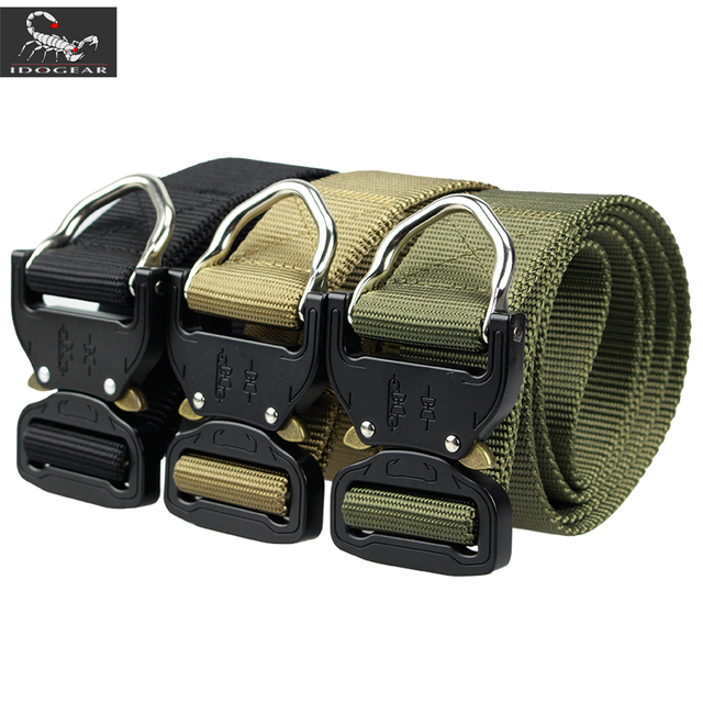 US $15 96 30% OFF|IDOGEAR Riggers Belt Quick Release 1 5 Inch Tactical D  Ring Airsoft IG BT3405 on Aliexpress com | Alibaba Group