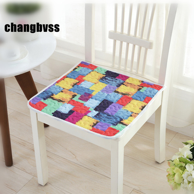 Colorful Dining Chair Cushions Floor Mat Pad,Cheap Seat Cushion Car Mat,19  Colors