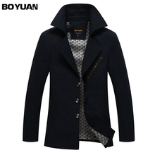 BOYUAN Brand Clothing Jacket Men Jaqueta Masculina Mens Spring Jackets Cortavientos Hombre Blouson Homme Big Size
