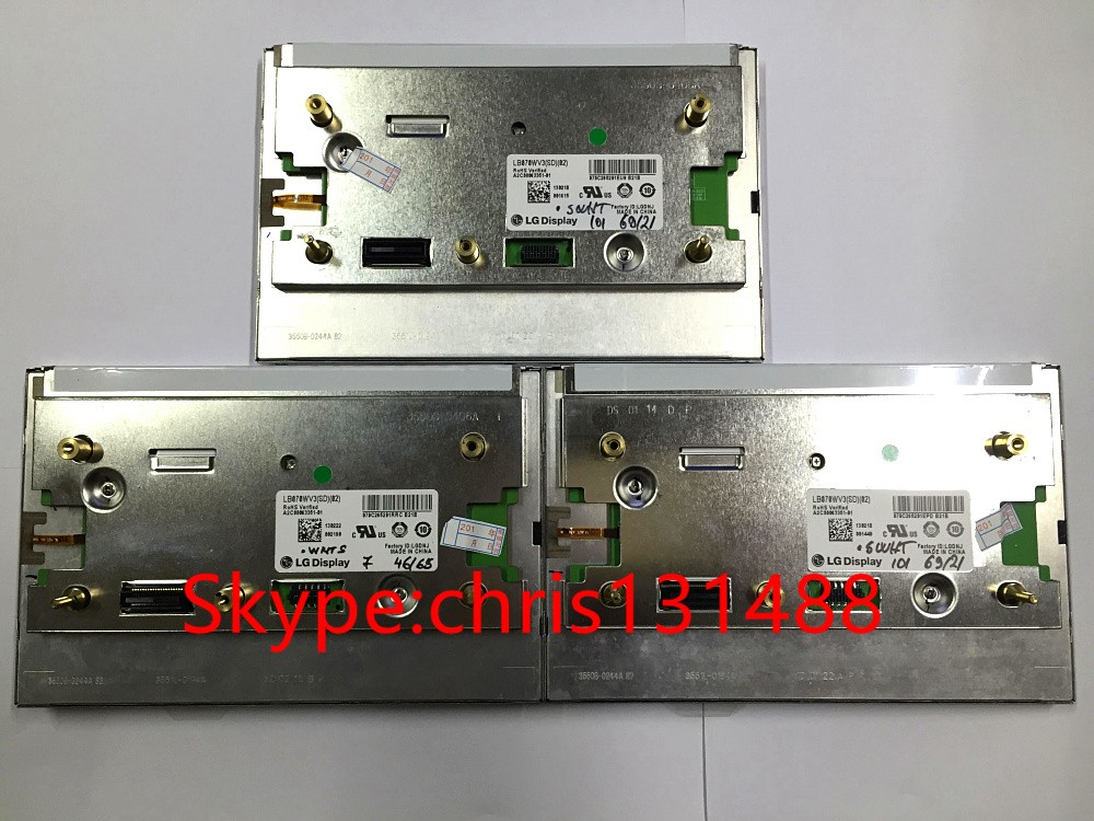 100 new L G 7 LCD display screen LB070WV3 SD02 LB070WV3 SD 02 lcd modules for