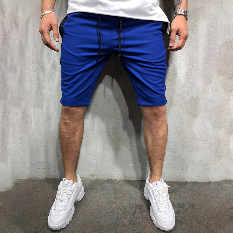 Solid color men 39 s sweatpants 2019 summer men 39 s shorts jogger fashion fitness shorts brand men 39 s fashion men 39 s clothing in Casual Shorts from Men 39 s Clothing
