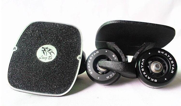 free shipping freeline skate drift board black panther 72x43mm wheel