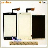SYRINX taśma 3 M przedni Panel szklany do Fly iq 4505 iq4505 quad era życia 7 ekran dotykowy wyświetlacz LCD digitizer z ekranem dotykowym w Panele dotykowe do telefonów komórkowych od Telefony komórkowe i telekomunikacja na