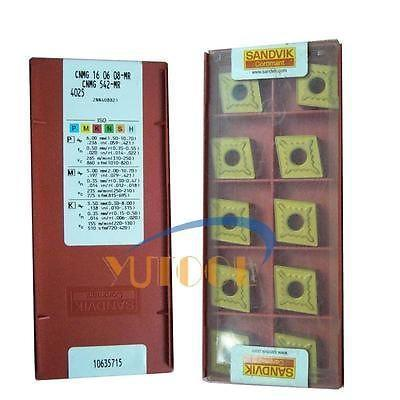 10pcs SANDVIK carbide insert CNMG160608 MR CNC Milling lathe inserts new