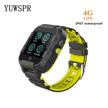 4G חכם שעון ילדים GPS Tracker שעון עמיד למים IP67 וידאו שיחת GPS LBS WIFI מיקום SOS שיחת ילדי חכם שעון מתנה DF39