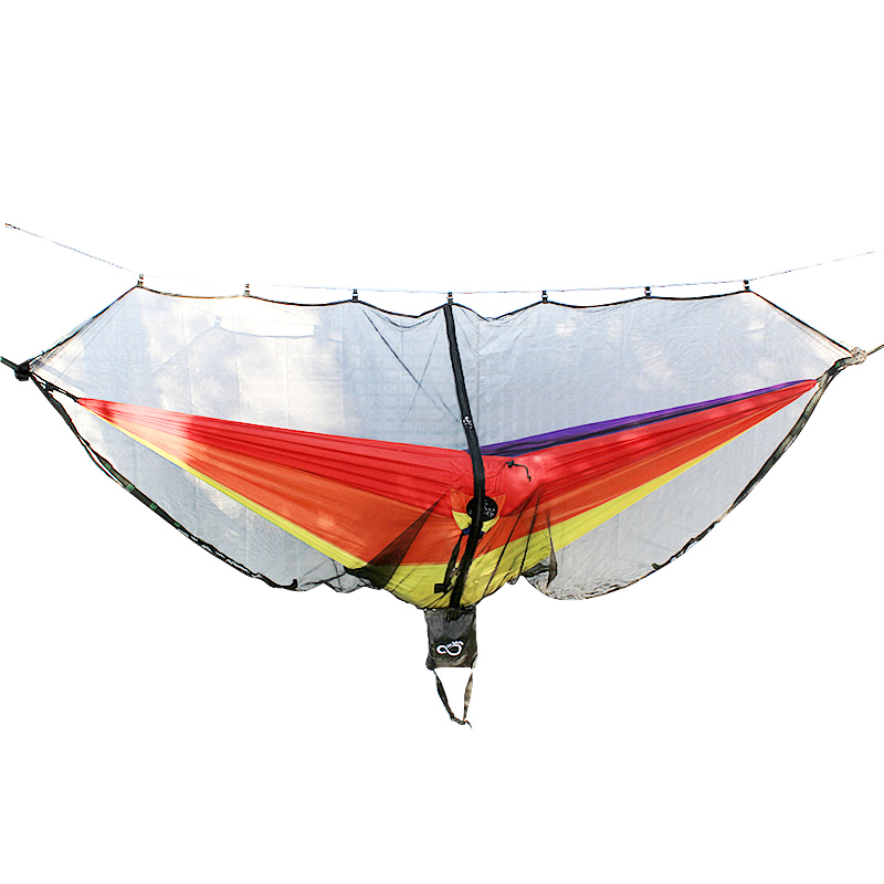Hammock Bug & Mosquito Net - 360 Degrees of Portable Insect Protection for Backpacking & Camping. Netting Fits Double & SingleHammock Bug & Mosquito Net - 360 Degrees of Portable Insect Protection for Backpacking & Camping. Netting Fits Double & Single