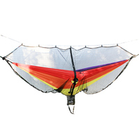 Hammock Bug & Mosquito Net - 360 Degrees of Portable Insect Protection for Backpacking & Camping. Netting Fits Double & Single