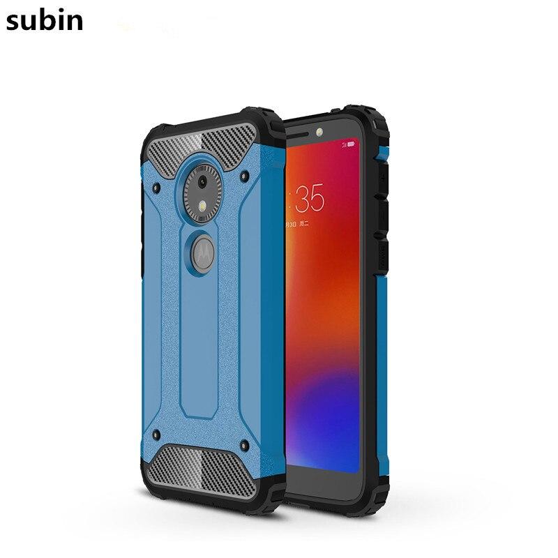 For Motorola Moto E5 Play Go case cover funda New Luxury Shockproof bumper prote