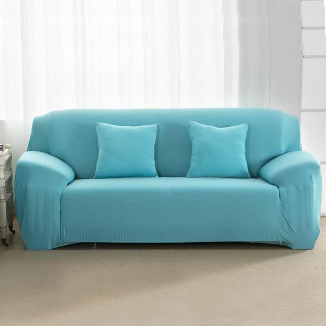 Solid Sofa Cover Elastic Stretchable Slipcovers Sofa Cushion Couch Home  Funiture Protector Covers Cubierta Para Sofa