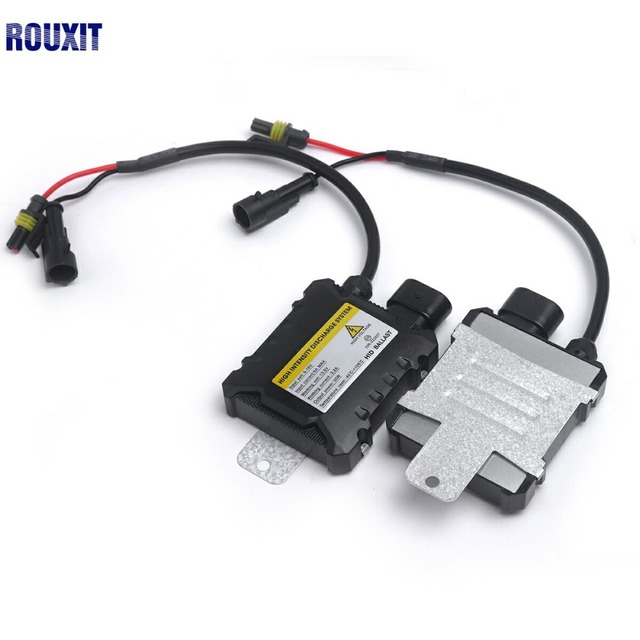 2 pcs Magro HID 55 w Xenon Substituição Eletrônico Conversão Digital Ballast Kit Bloco de Unidade De Ignição para Motos Carros 12 v