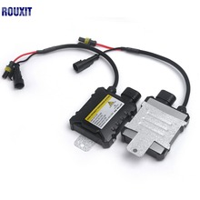 цена на 2pcs Slim HID 55W Xenon Replacement Electronic Digital Conversion Ballast Kit Ignition Unit Block for Motorcycle Cars 12V