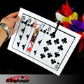 Folding Queen Jumbo bicycle card Queen poker set magic tricks propsFree shipping