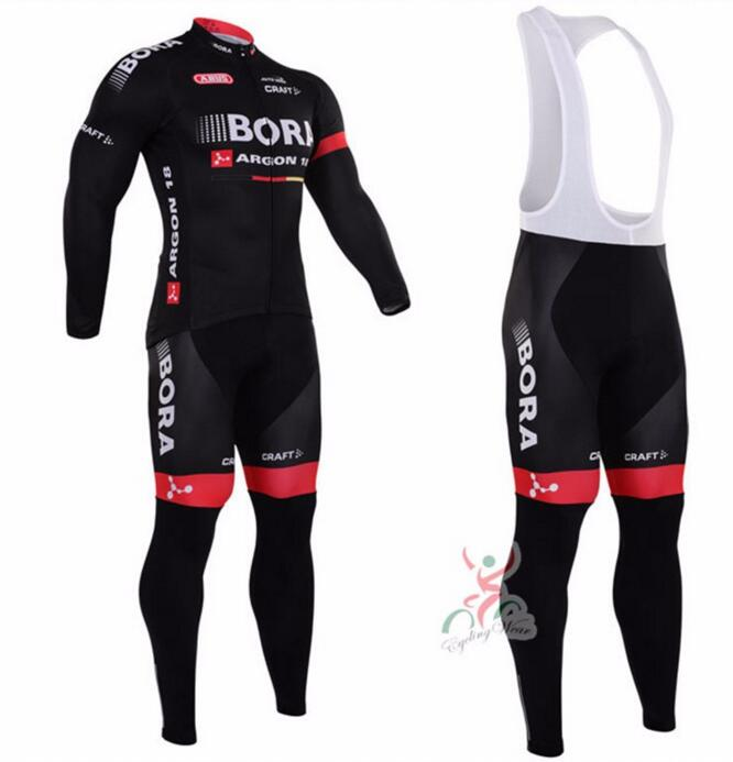 Bike BORA Ijersey Ropa ciclismo long sleeves cycling jersey mtb mountain bicicleta clothing breathable popular 2015 for men wosawe men s long sleeve cycling jersey sets breathable gel padded mtb tights sportswear for all season cycling clothings