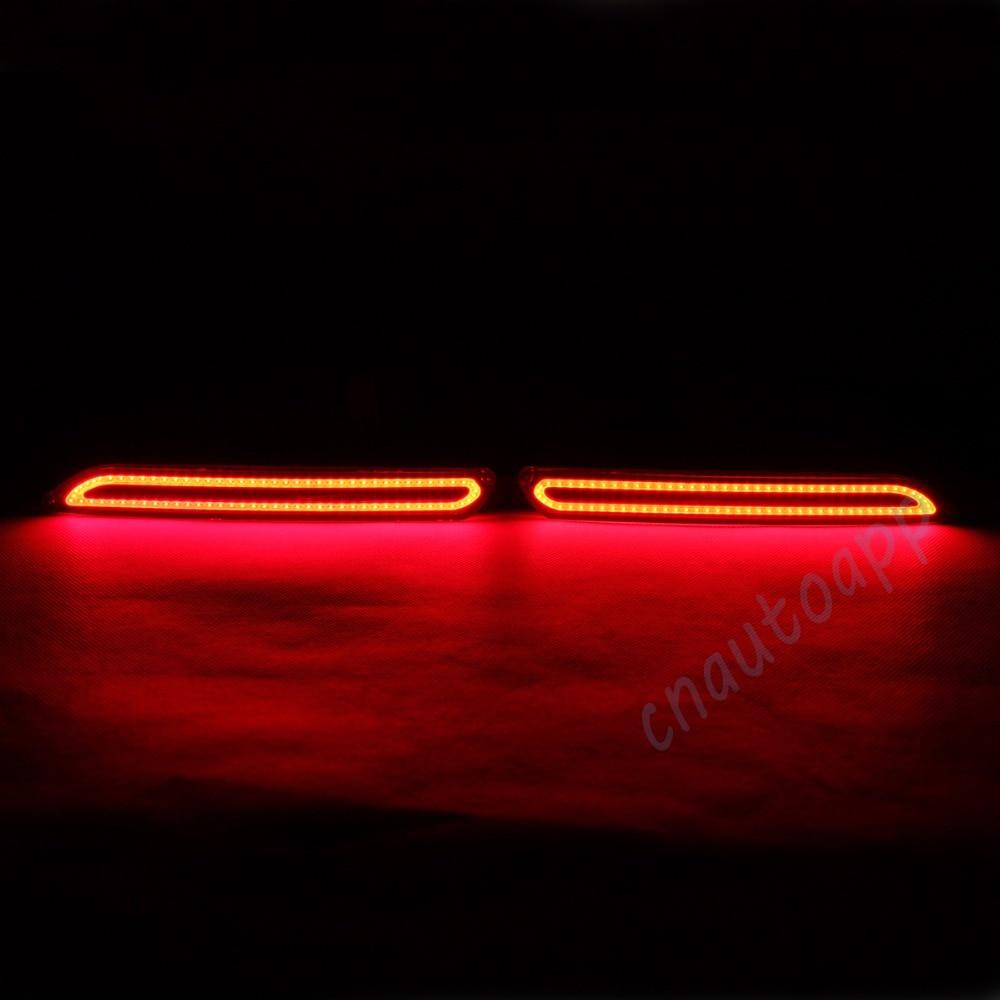 LED Rear Bumper Warning Lights COB Car Brake Lamp For Toyota Camry 2007 14 / Reiz 10 13 / Sienna / verso / Avalon /Urban cruiser