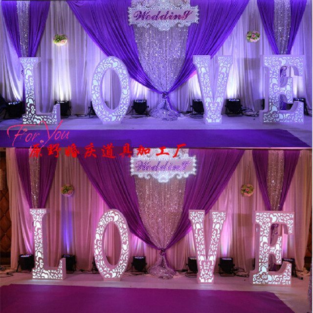 Wedding Backdrop Paillette Curtain For Decoration 10ft 20ft Whole Stage Background
