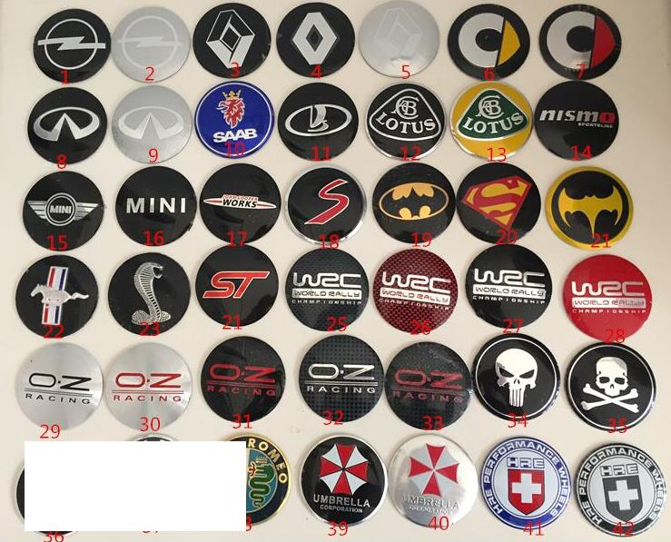 100pcs 56 5mm Car Wheel Center Cover Hub Cap Badge Emblem Sticker Decal for opel Renault