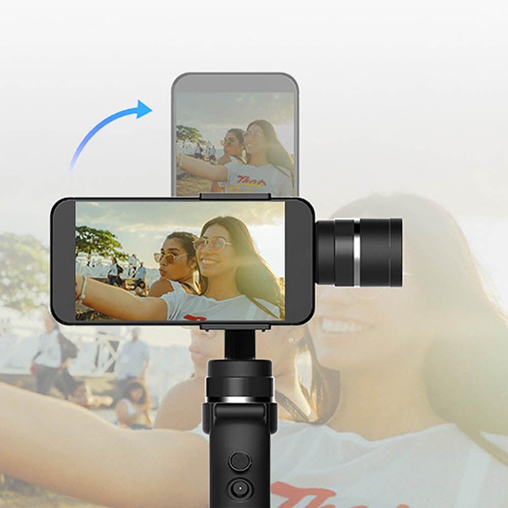 Cardan de stabilisateur cinématographique tenu dans la main de Roll3 Axis de 320 degrés avec la batterie pour le Smartphone