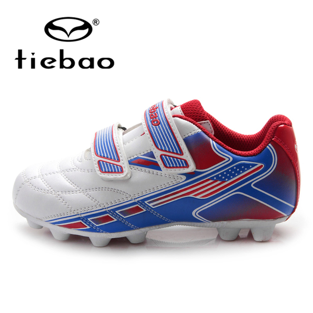 e817844baef TIEBAO Professional Children Kids Teenagers FG   HG   AG SolesTraining Soccer  Shoe Outdoor Football Boots