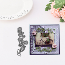 Beautiful Flowers Metal Cutting Dies for Scrapbooking DIY Album Embossing Folder Paper Card Maker Template Decor Stencils