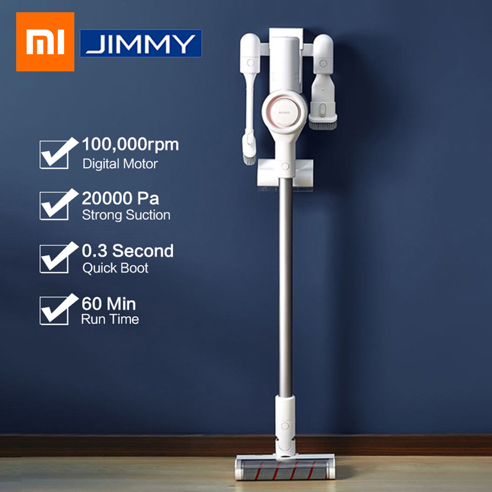 2019 xiaomi dreame v9 vacuum cleaner handheld cordless stick aspirator vacuum 20000pa for home. Black Bedroom Furniture Sets. Home Design Ideas
