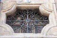 Ferforje çelik cam pencere, metal cam pencere ferforje windowswindow demir pencere ızgara tasarımı hc-w13