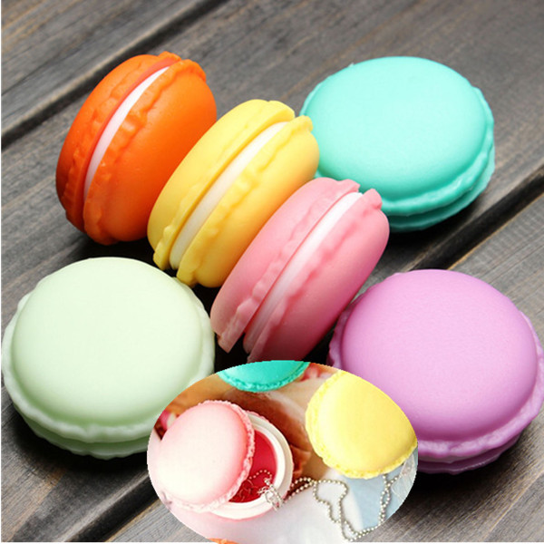 novelty cute mini laciness macarons box candy color for jewelry box small thing storage boxes popular - Buy Candy By Color