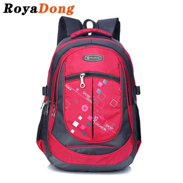 RoyaDong 2017 School Bags For Boys Girls Kids Backpack Child Bagpack Schooltas Back Pack Children'S Backpacks Mochila Escolar