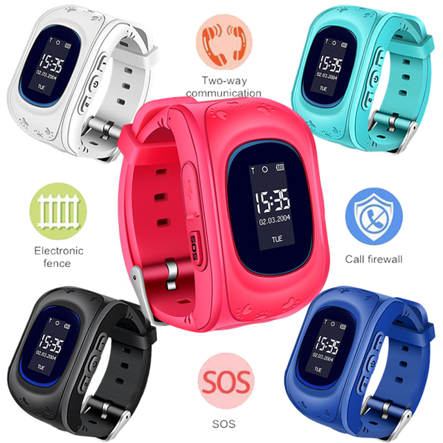 2018 BANGWEI GPS Tracker Kids Smart Watch for Children Safety SOS Call Location